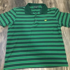 Masters Collection Striped polo shirt size XL